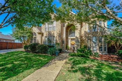 Plano Single Family Home Active Option Contract: 3801 Lost Creek Drive