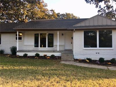North Richland Hills Single Family Home Active Contingent: 7708 Bogart Drive