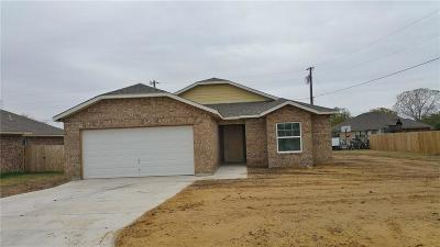 Mineral Wells Single Family Home For Sale: 1502 19th Avenue