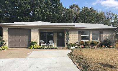 Carrollton Single Family Home Active Option Contract: 2110 Sequoyah Way