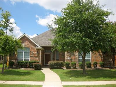 Allen Single Family Home Active Option Contract: 1208 Surrey Lane