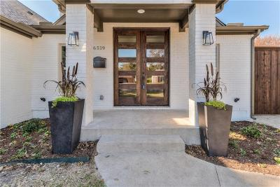 Single Family Home For Sale: 6519 Oriole Drive