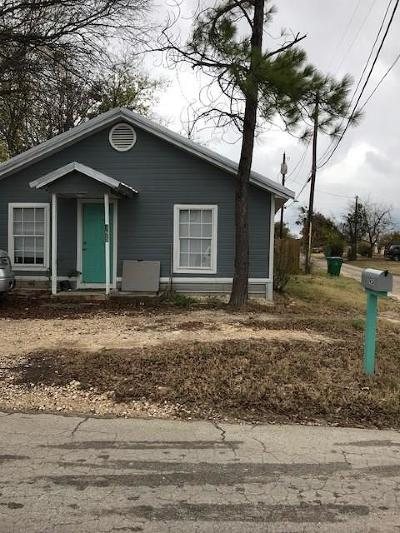 Stephenville TX Single Family Home For Sale: $97,000