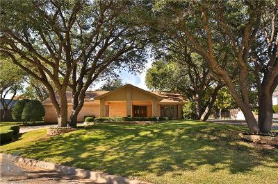 Abilene Single Family Home For Sale: 24 Muirfield Street