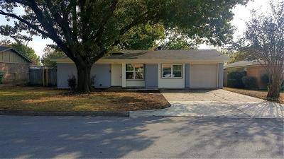 North Richland Hills Single Family Home Active Option Contract: 7832 Standley Street