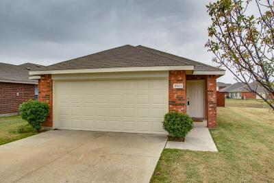Fort Worth TX Single Family Home Active Option Contract: $200,000