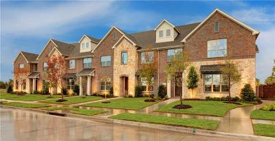 Mckinney Townhouse For Sale: 3709 Quail Wood Drive
