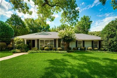 Dallas Single Family Home For Sale: 6806 Patrick Drive