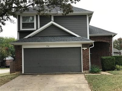 Lewisville Single Family Home For Sale: 956 Boxwood Drive