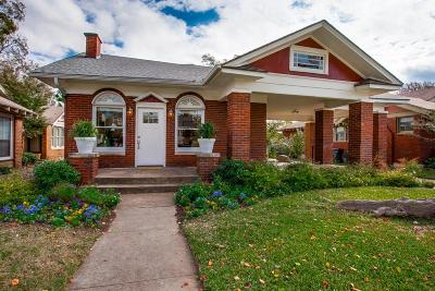Dallas Single Family Home For Sale: 614 N Rosemont Avenue
