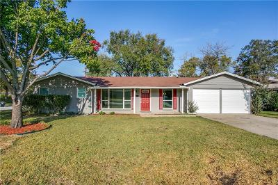 Fort Worth TX Single Family Home For Sale: $189,000