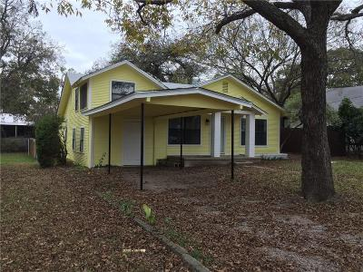 Weatherford Single Family Home For Sale: 521 W Bridge Street