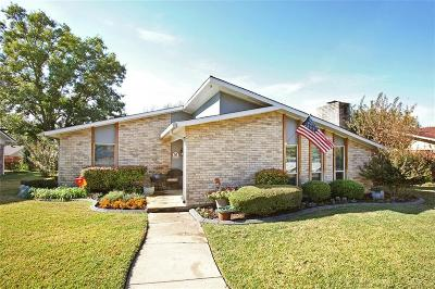 Plano Single Family Home Active Option Contract: 1706 California Trail