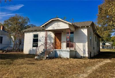 Fort Worth Single Family Home For Sale: 5308 Fletcher Avenue