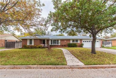 Richland Hills Single Family Home For Sale: 3525 Ruth Road