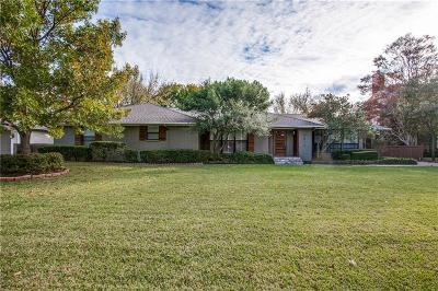 Single Family Home For Sale: 5812 Preston Haven Drive
