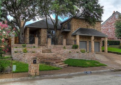 Addison Single Family Home For Sale: 14924 Oaks North Drive