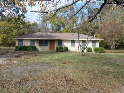 Seagoville Single Family Home For Sale: 331 E Malloy Bridge Road