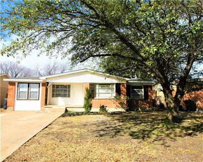 Dallas Single Family Home For Sale: 10829 Dunaway Drive