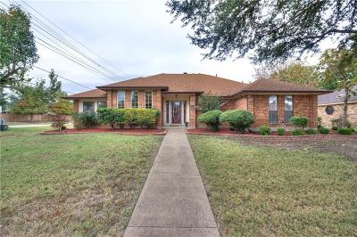 Lewisville Single Family Home Active Option Contract: 1653 Oak Creek Drive