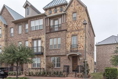 Plano Townhouse For Sale: 7910 Bishop Road