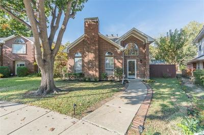 Coppell Single Family Home Active Option Contract: 360 Raintree Drive