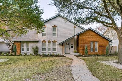 Dallas Single Family Home For Sale: 9849 Faircrest Drive