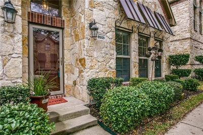 Mckinney Townhouse Active Option Contract: 8909 Trolley Trail
