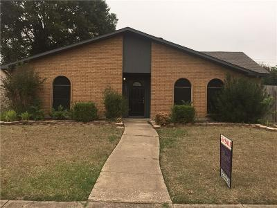 Rowlett Single Family Home Active Option Contract: 9001 Millwood Drive