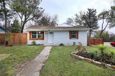 Mesquite Single Family Home For Sale: 1701 Rose Lane
