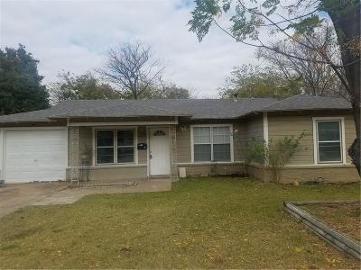 Haltom City Single Family Home For Sale: 5117 Lucille Street