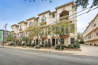 Dallas Townhouse For Sale: 1002 Pavillion Street