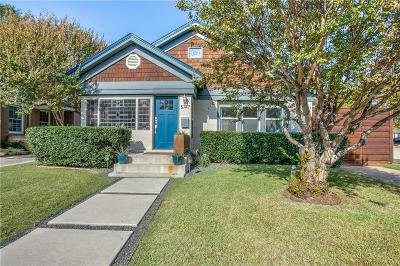 Dallas Single Family Home For Sale: 5747 Goodwin Avenue