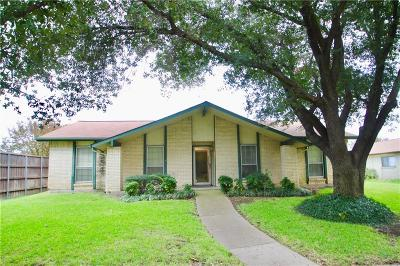 Carrollton Single Family Home Active Option Contract: 1941 Castille Drive