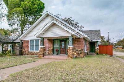Dallas Single Family Home For Sale: 2703 Gladstone Drive