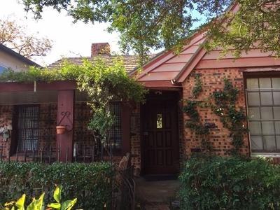 Dallas Single Family Home For Sale: 5107 Milam Street