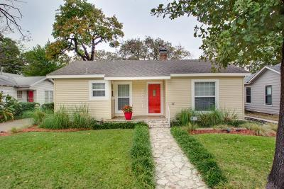 Fort Worth Single Family Home For Sale: 3201 Clary Avenue