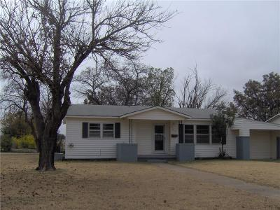 Eastland County Single Family Home For Sale: 525 E Conner