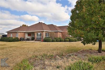 Abilene Single Family Home Active Option Contract: 326 Pilgrim Road