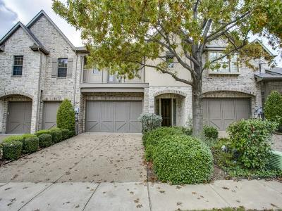 Frisco Townhouse For Sale: 2463 Greymoore Drive