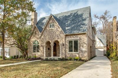 Single Family Home For Sale: 5251 Monticello Avenue