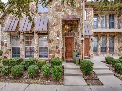 Mckinney Townhouse For Sale: 5712 Conch Train Road
