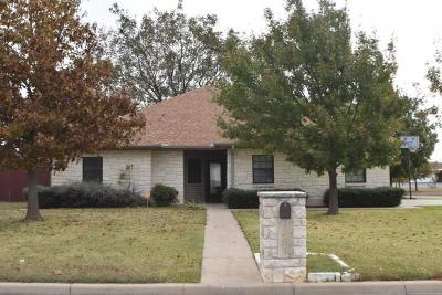 Stephenville Single Family Home Active Option Contract: 1401 Glenwood Drive