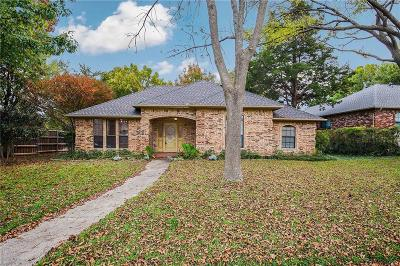 Plano Single Family Home Active Option Contract: 3241 Maverick Drive