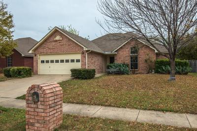 Watauga Single Family Home Active Option Contract: 7712 Prairie Drive