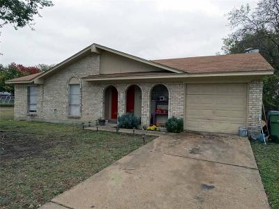 Garland Single Family Home For Sale: 1625 Indian School Road