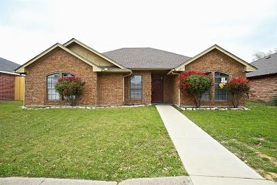 Garland Residential Lease For Lease: 4817 Creekridge Lane