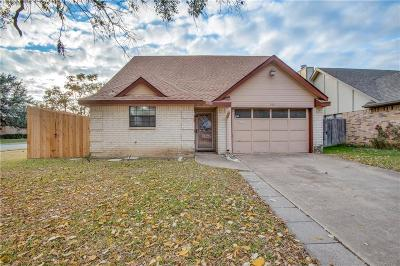 Irving Single Family Home Active Option Contract: 501 Causey Lane