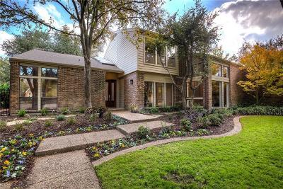 Dallas Single Family Home For Sale: 5526 Tamaron Court