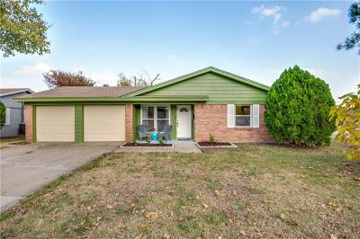 North Richland Hills Single Family Home Active Option Contract: 5000 Roberta Drive